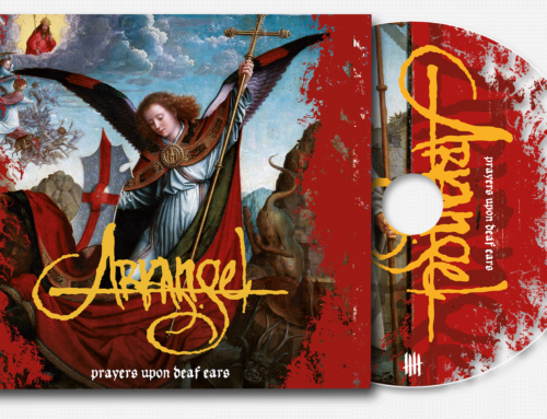 "ARKANGEL ""Prayers Upon Deaf Ears"" Deluxe Digipack clear CD"