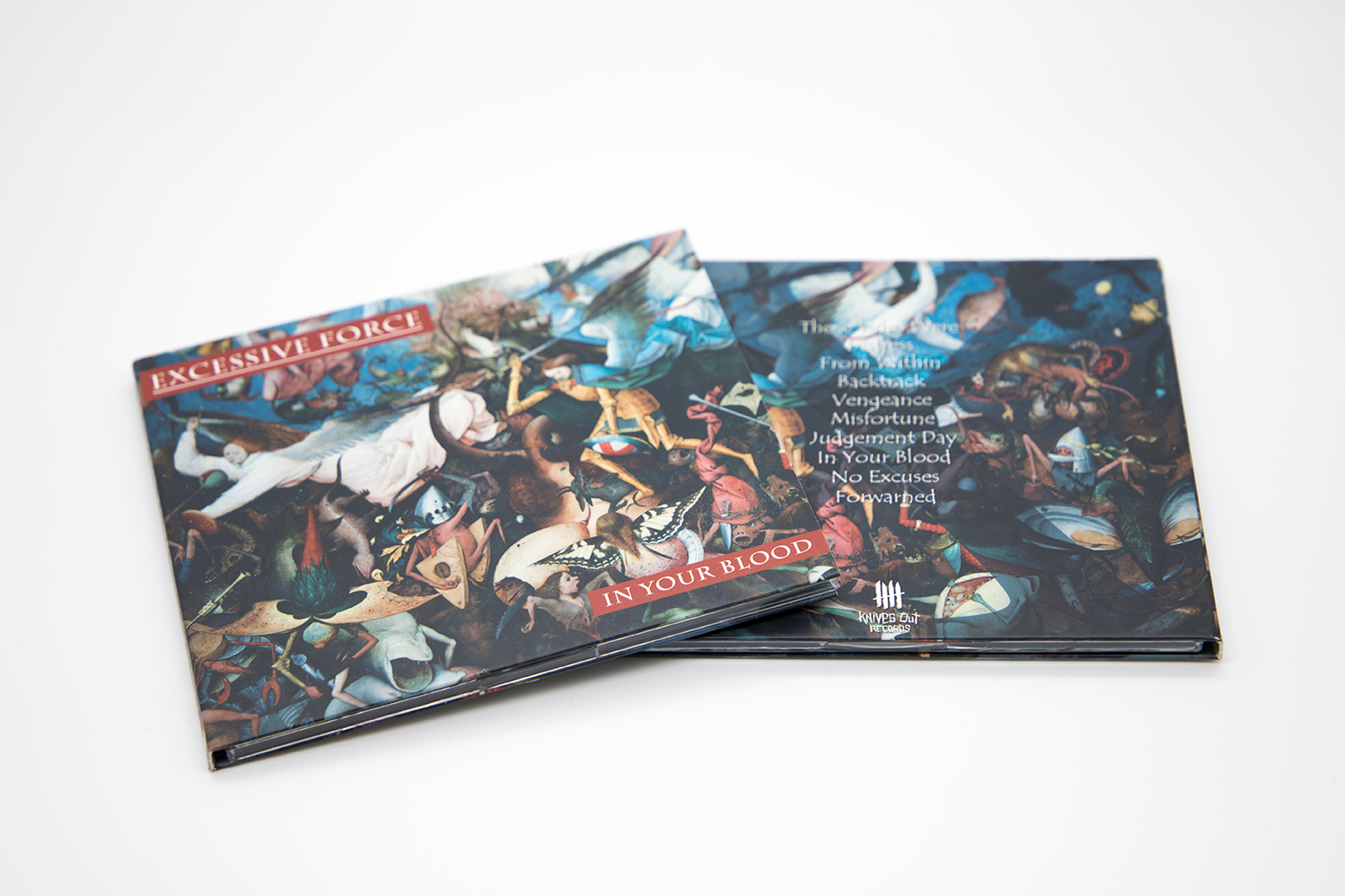 """EXCESSIVE FORCE """"In Your Blood"""" Digipack CD"""