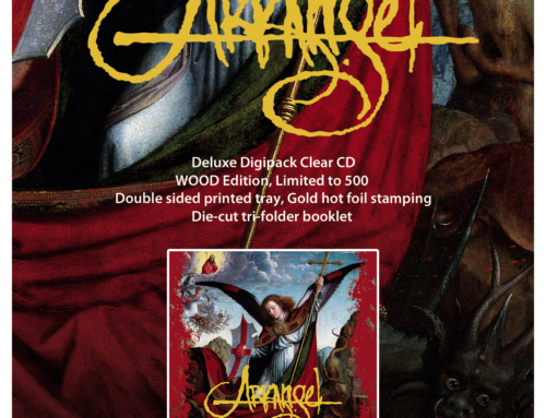 "Deluxe reissue : ARKANGEL ""Prayers Upon Deaf Ears"" • Digipack Clear CD"