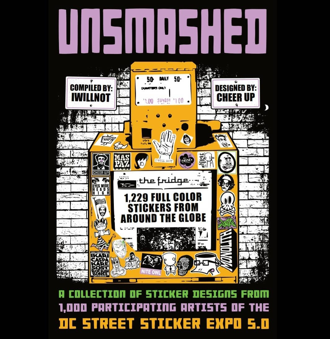 UNSMASHED Street Sticker Book 2021