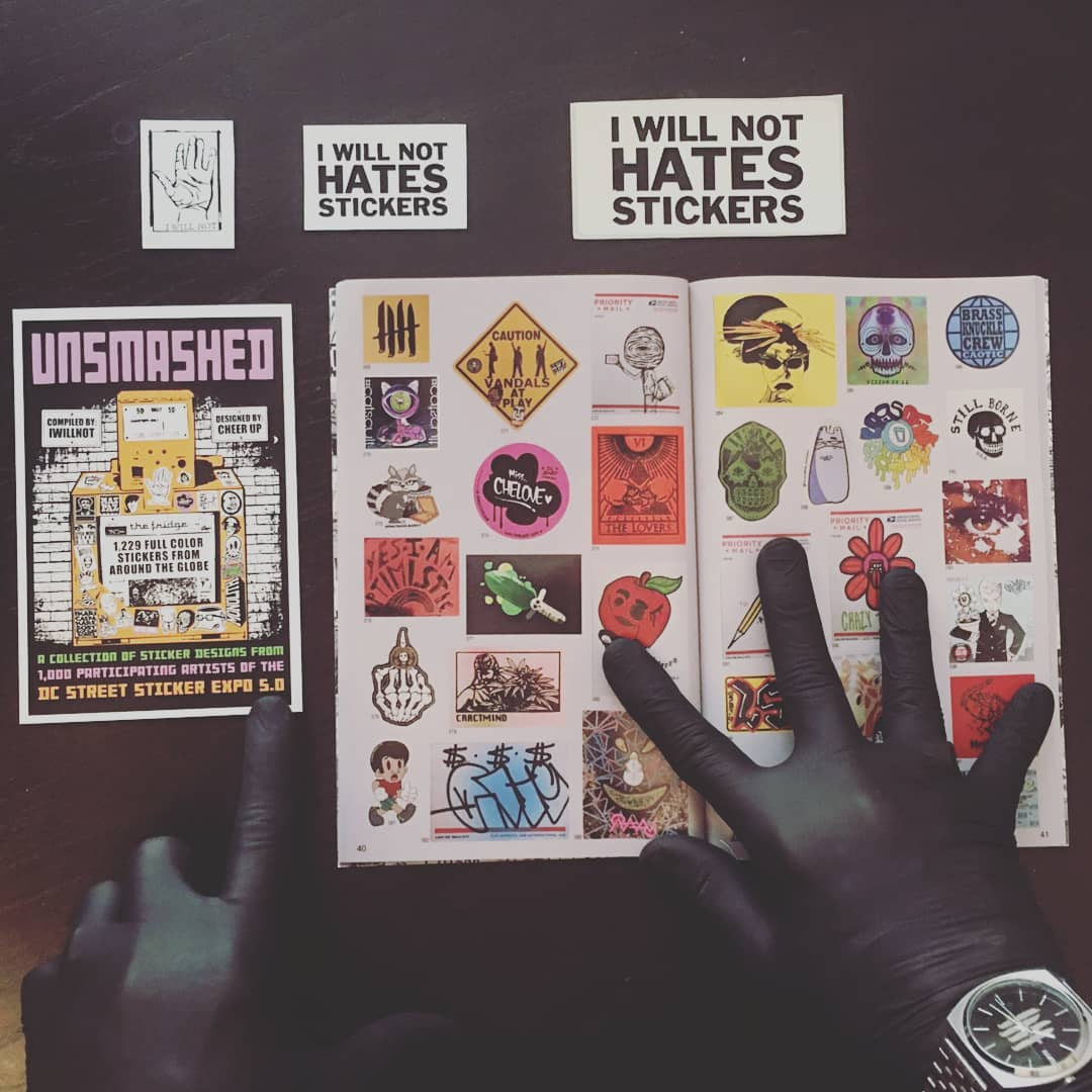 UNSMASHED Street Sticker Book 2021
