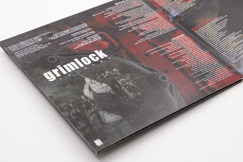 """GRIMLOCK """"Crusher"""" Gatefold 10"""" vinyl"""