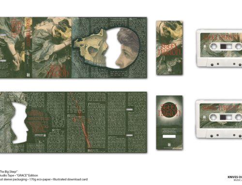 "STEEL NATION ""The Big Sleep"" Cassette Tape • ""Grace"" Edition"