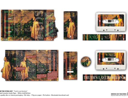 """FROM THE DYING SKY """"Truth's Last Horizon"""" Cassette Tape • White shell Edition"""