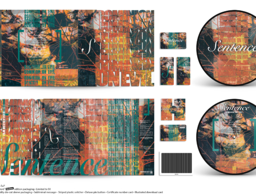 "SENTENCE ""Dominion On Evil"" Picture Disc 12″ Vinyl • Sword Knives Edition"