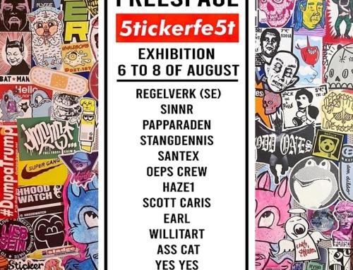 5tickerFe5t, Sticker Exhibition 2021 • Danemark
