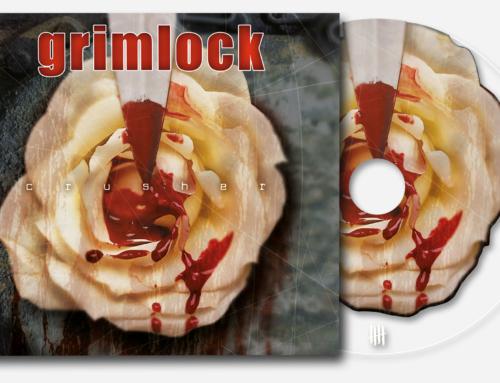 "GRIMLOCK ""Crusher"" Deluxe Digipack Clear CD"
