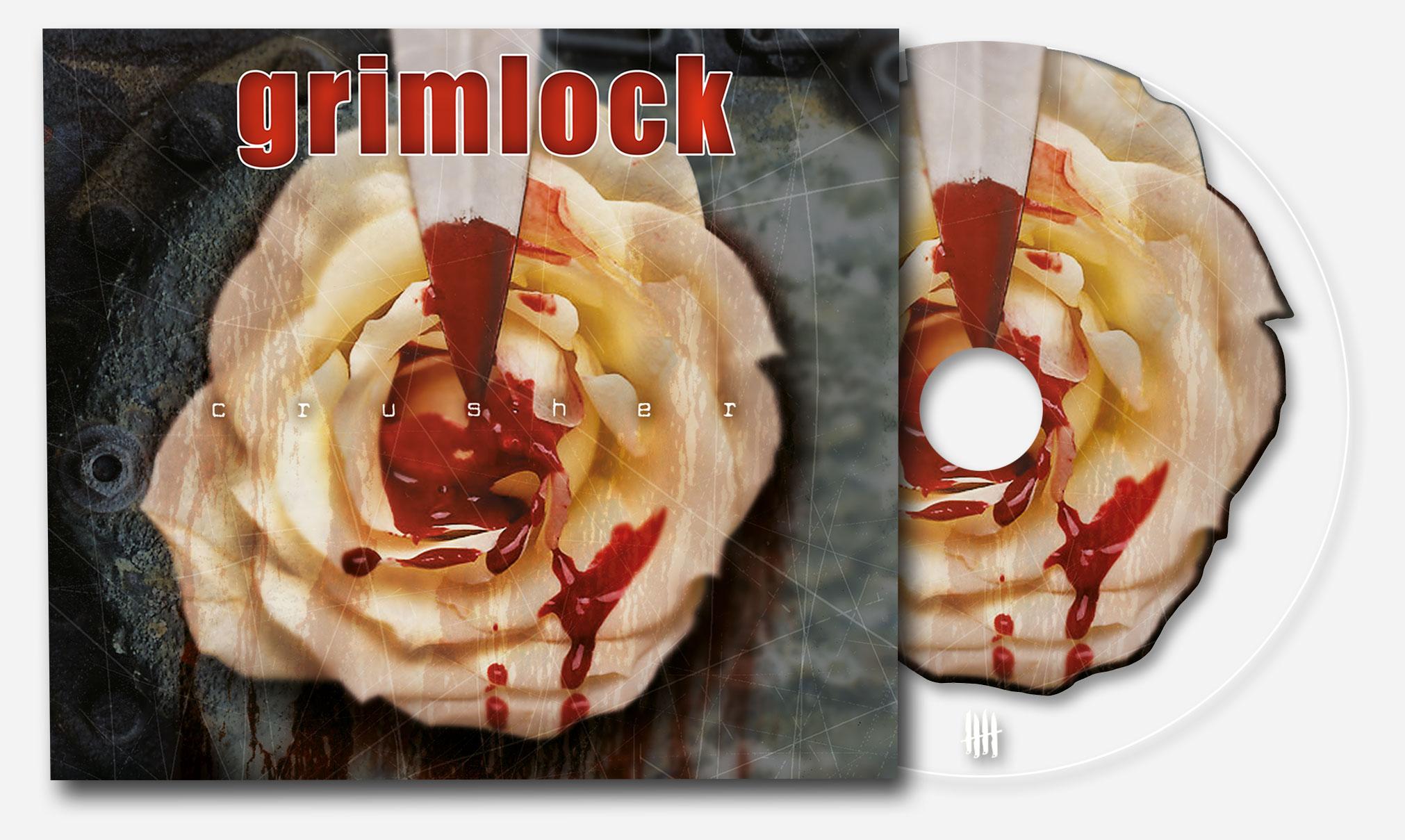 "GRIMLOCK ""Crusher"" Digipack Clear CD"